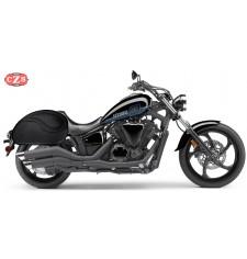 Rigid saddlebags yamaha stryker for Yamaha stryker saddlebags