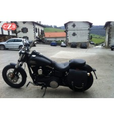 Alforja para Dyna Harley Davidson mod, ULISES Básica - Específica - IZQUIERDA