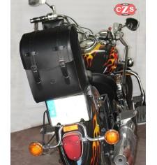 Baúl Custom para Yamaha Drag Star 1000 Classic mod, UNCAS Básico UNIVERSAL