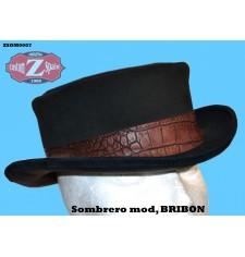 SOMBRERO DE COPA mod, BRIBON Dandy