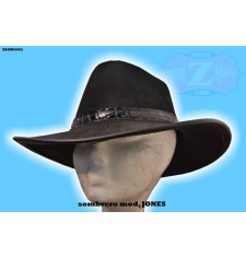 Sombrero de Piel JONES color NEGRO