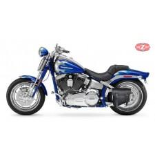 Alforja de basculante para Harley Davidson FLHRCI Road King mod, HERCULES Básica Específica