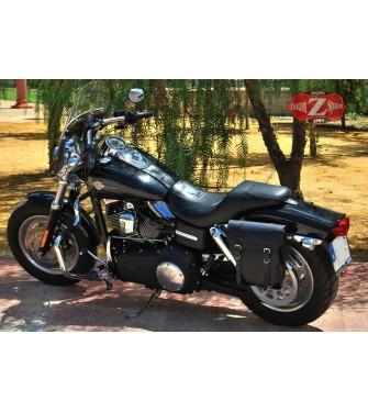 Alforja Lateral para DINA Street bob Harley Davidson mod, CENTURION Izquierda