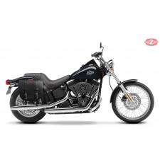 Alforja Lateral para Night Train Softail Harley Davidson mod, BANDO Básica Standard