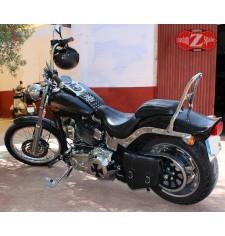 Alforja de Basculante para Softail FXSTC Harley Davidson mod, HERCULES Básica - IZQUIERDO -