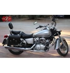 Alforjas para Honda Shadow VT 125 mod, APACHE Básica Especifica