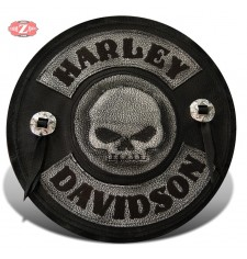 Parche personalizado HD willie 2 conchos