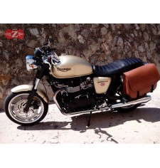 Alforja Lateral para Triumph Bonneville T100 - T120 mod, MALETÓN