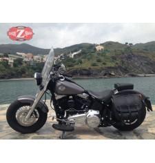 Alforja lateral para Softails Deluxe Harley Davidson mod, TRAJANO Básica Específica