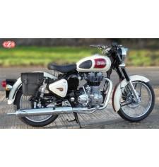 Alforja para Royal Enfield - Bullet Classic 350/500cc mod, CENTURIÓN Específica - DERECHA