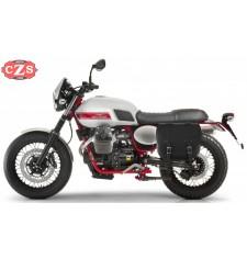 Alforja para Guzzi V7 II Stornello mod, BANDO Básica Específica - Hueco amortiguador -  IZQUIERDA