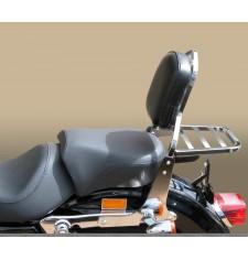 Respaldo con portaequipaje para Harley Davidson Sportster XL/XLM/XLN (desde 2005)