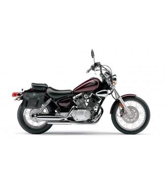 MOTORCYCLE LEATHER TOOL ROLL SADDLEBAG YAMAHA VIRAGO MIDNIGHT STAR DRAG STAR