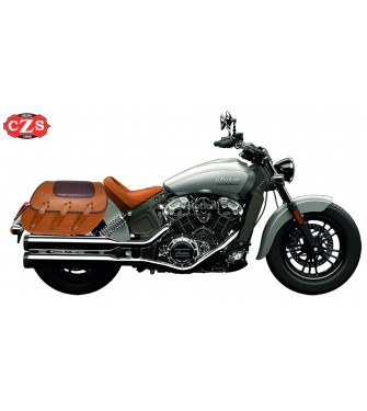 le dernier 94d3b e64f8 Rigid Saddlebags Indian Scout Sixty SUPER STAR Braided Croco ...