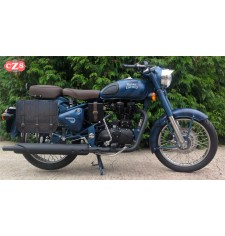 Alforja lateral para Royal Enfield Classic 500 Squadron Blue mod, TRAJANO - Old Rat - Específica