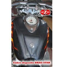 Panneau moto en cuir pour Yamaha Drag-Star 1100 Celtic Basique