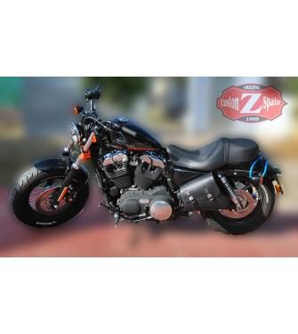 Alforja para basculante para Sportster Harley Davidson mod, LEGION Básica Específica