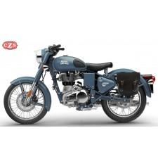 Alforja para Royal Enfield Classic 500 mod, ADRIANO Específica - Izquierda