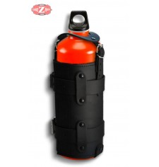 Porta-botellas Regulable para motos Custom y Clásicas - Negro