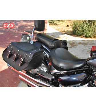 grande vente f6370 8ec12 Rigid Saddlebags Suzuki Volusia 800