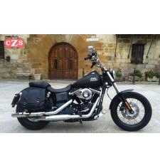 Alforjas para Dyna Street-Bob Harley Davidson mod, ULISES Básica Específica