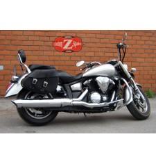 Alforjas para Kawasaki Vulcan 2000 mod, CRUZADO Básica Adaptables