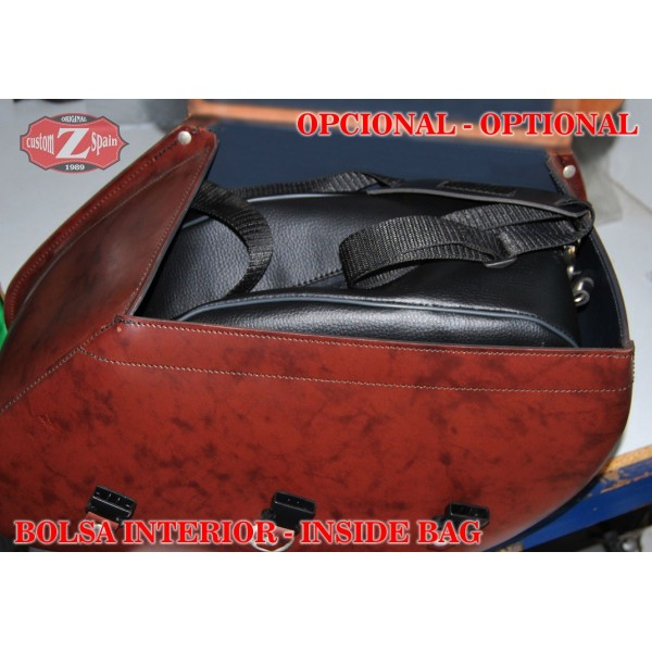 pas cher pour réduction 2950a fcb42 Rigid Saddlebags Yamaha XV 1900 Midnight Star SUPER STAR ...