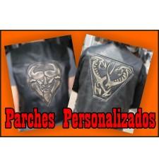 Vintage personnalisés Biker Patches - espalier -