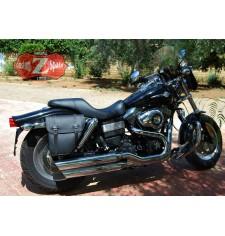 Set de Alforjas Adaptadas para Dynas Harley Davidson mod, CENTURION