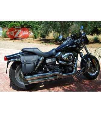 Alforja Lateral para DINA Street bob Harley Davidson mod, CENTURION Derecha