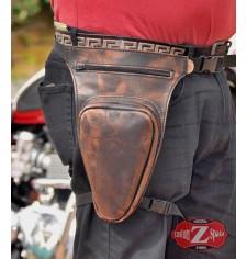 Leg bag REVOLVER Bronw Old Rat
