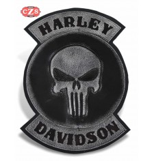 Personalised Vintage Patch - HD Punisher -