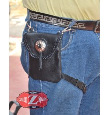 Leg bag - 1 concho -