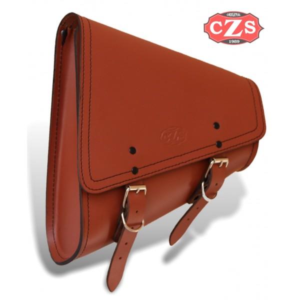 f4d3fdc494e4 ... Swing Arm Saddlebag mod, ODIN - Leather Brown - UNIVERSAL ...