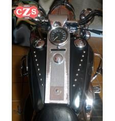 Panneau moto en cuir pour Road King Classic - Harley Davidson - Classique - Spécifique