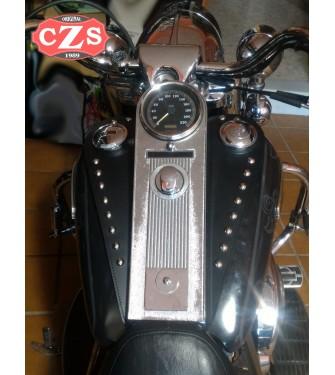 Corbata Panel de deposito para Road King Classic - Harley Davidson - Clásico