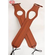 Corbata - Panel de depósito para Royal EnfIeld mod, ORION - Marrón claro - Específico