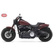 Alforja para  Softail Fat Bob Harley Davidson mod, NÁPOLES  Específica - Izquierda