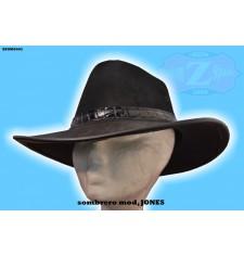 Sombrero de Piel JONES color NEGRO