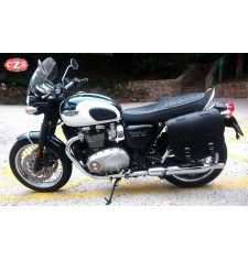 Alforja para Triumph Bonneville T100/T120 mod, BANDO  Básica - Negro - Adaptable
