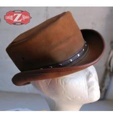 Sombrero de Piel mod, TAHUR Clásico - Marrón -