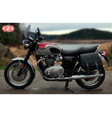 Sacoche pour Triumph Bonneville T100/T120 mod, SCIPION Basique Adaptable - GAUCHE
