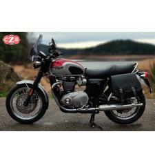 Sacoche pour Triumph Bonneville T100/T120 mod, SCIPION Basique - GAUCHE