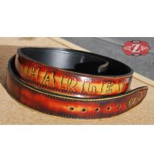 Cinturón mod, FLAME Personalizado - Harley Davidson -