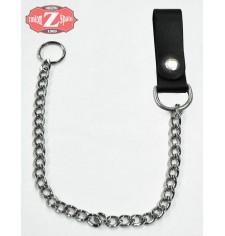 Porte-clés BIKER Basic - Chaîne chromée -