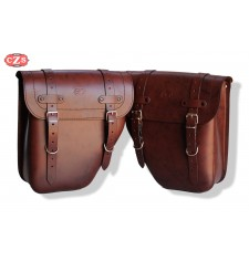 Set of saddlebags  CENTURION Basic Universal Brown