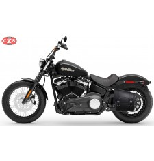 Alforja para  Softail Street Bob Harley Davidson mod, NÁPOLES  Adaptable - Izquierda