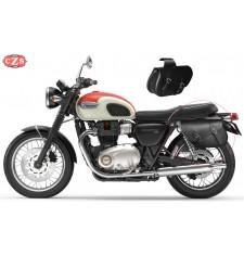 Juego de Alforjas para Triumph Bonneville T100-T120 mod, ALHAMA Básica - Adaptables