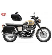 Sacoches pour Triumph Bonneville T100-T120 mod, COMANDO Basique - Adaptable