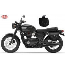 Satteltaschen für Triumph Bonneville T100-T120  mod, TEBAS Basis - Anpassungsfähig